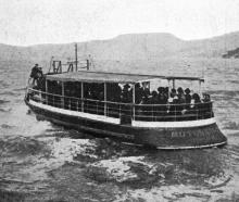 The Moturata, now running in the new harbour ferry service, Otago Harbour. —  Otago Witness, 28...