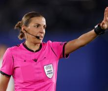 Referee Stephanie Frappart. Photo: Reuters