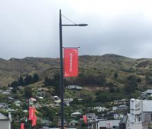 The Ōtautahi and Christchurch flags line the port's streets. Residents argue they should be...