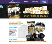 Six60 have been criticised over their association with Lotto promotional material. Photo: Supplied