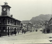 The Post and Telegraph Office on Norwich Quay, Lyttelton (1885). Photo: Supplied