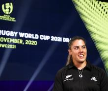 Black Ferns captain Eloise Blackwell. Photo: Getty Images