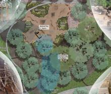 The planned natural woodland play area. Image: Newsline / CCC