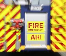A Fire and Emergency NZ spokesman said they were called to the blaze in Winslow at about 6.23am....