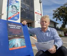 Swim club president Chris Averill is concerned about how plans to decommission Wharenui Pool will...
