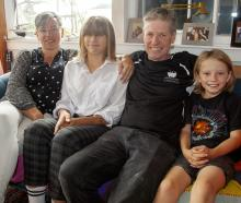 A Givealittle page has been set up for Dave Haimes and his family – Reecy Den-Heijer (left),...