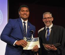 St Kevin's College year 13 pupil Watson Tuapati (left) died earlier this week. The school and its...