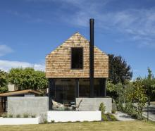 Staying in a compact holiday home in the mountains, the owners of this property saw that a small,...
