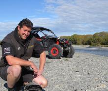 James Bradford is covering the odds, backing St John and heading off-road for a bit of fun. Photo...