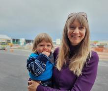 Health coach Katie Charlton and Max are enjoying life in Ashburton. Photo: Supplied