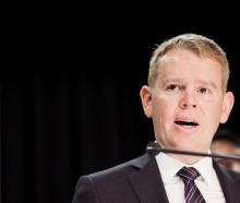 Covid-19 Response Minister Chris Hipkins. Photo: RNZ