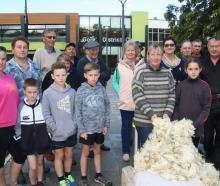 Gore district sheep farming families are disappointed the council chose acrylic tiles instead of...