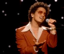 Bruno Mars. Photo: Getty