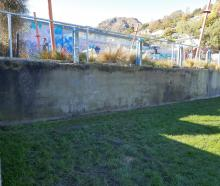 The graffiti on the historic Lyttelton Gaol wall has almost been removed, almost seven months...