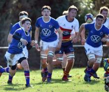 Southland Boys' faced John McGlashan earlier this week. Photo: PETER MCINTOSH