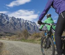 Tourism Minister Stuart Nash says work on new and upgraded cycle trails in Queenstown, Arrowtown...