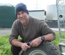 Sam Owen has had a couple of bouts of depression during his dairy farming career. Photo: RNZ