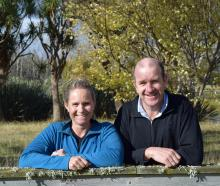 Central Southland dairy farmers Peter and Emma Hammond are using a new strip system in a bid to...