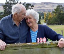 Bill (89) and Gwenda (86) Frame celebrate 100 years of their family farming Burnbank in Teviot...