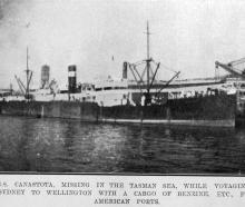 The SS Canastota, missing in the Tasman Sea while voyaging from Sydney to Wellington with a cargo...
