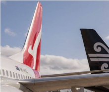 Passengers on a Qantas and an Air NZ flight are being considered close contacts of a Covid-19...