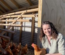 Natalie Stocker spreads her day between chicken rearing, farm work and co-ordinating on-farm...