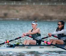 Lightweight rowing world champion Jackie Kiddle and New Zealand under-23 squad member Veronica...