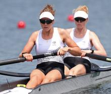 Grace Prendergast and Kerri Gowler. Photo: Getty Images