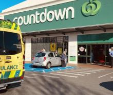 Four people were injured at the Cumberland St store in May. Photo: Craig Baxter