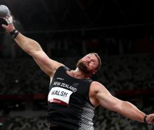 Tom Walsh in action during qualifying at the Tokyo Olympics. Photo: Getty