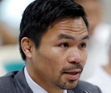 Manny Pacquiao. Photo: Reuters