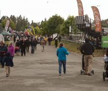 The New Zealand Agricultural Show on November 14. Photo: Geoff Sloan