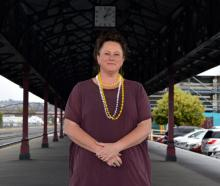 Otago Farmers Market manager Michele Driscoll is urging shoppers to buy local produce when the...