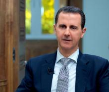 Israel, along with many countries, blames a deadly chemical attack strike on Assad's (above)...