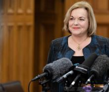 Judith Collins says alll DHB areas would have to reach the vaccination rates under National's plan.