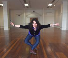 Looking forward to using a ''pilot performance venue'' in Dunedin is playwright and Ake Ake...