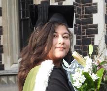 Charlene Hong Hue Phuong on her graduation day.PHOTO: SUPPLIED