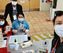 A pop-up vaccination clinic at Rolleston. Photo: Supplied
