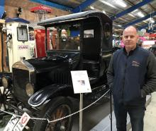 National Transport and Toy Museum curator Jason Rhodes, of Wanaka, is keen for the film industry...