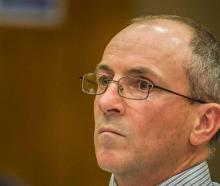 Scott Watson at the High Court in Christchurch in 2015. Photo: Supplied