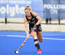 Black Sticks captain and legend Stacey Michelsen. Photo: Getty Images