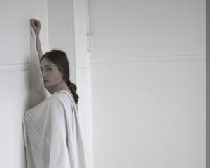 Ariane Bray's collection mixes a gritty aesthetic with soft accents. Photo: supplied.
