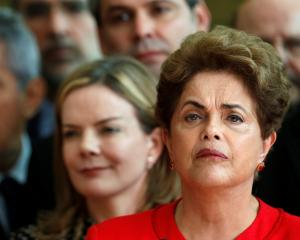 Dilma Rousseff (right) is the first Brazilian leader dismissed from office since 1992. Photo: Reuters