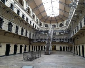 The East Wing of Kilmainham Gaol, with its Victorian ''panoptic design'',  speaks menacingly of...