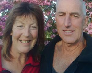 Te Anau saffron growers Jo and Steven Daley.  Photos: Shadowland Saffron.