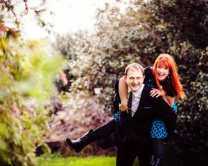 Penny Ashton and her husband Matt Harvey met through their mutual love of poetry. Photos supplied.