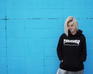 Trasher hoodie $129.99