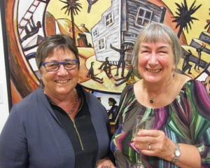 Louise McKenzie and Wendy Browne, both of Alexandra.