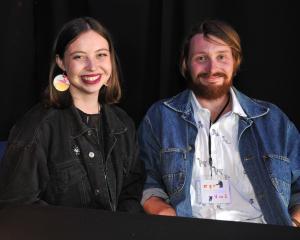 Megan Brady and Ralph Wigham, of Dunedin.