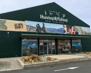 Hunting & Fishing New Zealand's new Dunedin store at 141 Crawford St
